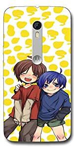 SEI HEI KI Designer Mobile Back Cover Case For Motorola Moto X Style