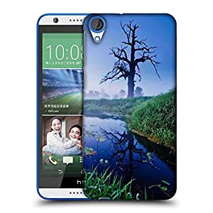 Snoogg Frozen Tree Designer Protective Phone Back Case Cover For HTC Desire 820