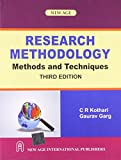 img - for Research Methodology :: Methods and Techniques by C.R. Kothari (Abridged, Audiobook, Box set) Paperback book / textbook / text book
