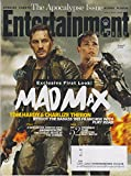 Entertainment Weekly July 4, 2014 Mad Max Tom Hardy & Charlize Theron