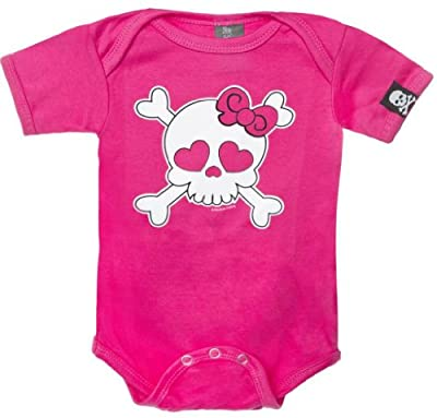 Sourpuss Baby-girls Skull Onesie from Sourpuss