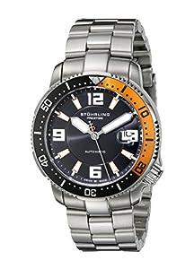 Stuhrling Prestige Men's 323.331157 Prestige Swiss Made Regatta Cruiser Automatic Date Stainless Steel Bracelet Watch