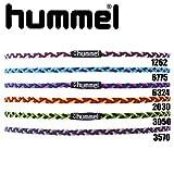 ヒュンメル(hummel) 三つ編みヘアゴム HFA9108 6324 ブルー/ピンク