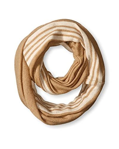 NORTH ELEVEN Women's Tipped Infinity Scarf, Wood Combo