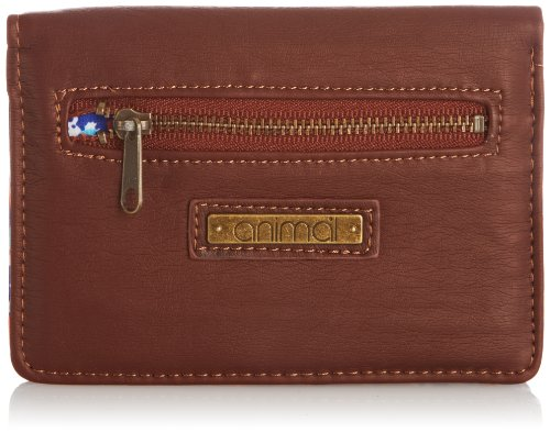 Animal Womens California Wallet DW4SE307-011 Brown