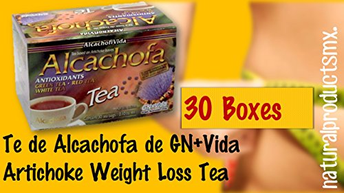 30 Cajas Te De Alcachofa To Help You Lose Weight Naturally Artichoke Weight Loss Tea 30 Boxes