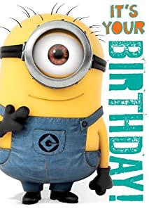 Amazon.com: Official Despicable me Minions Birthday Card with Recorded