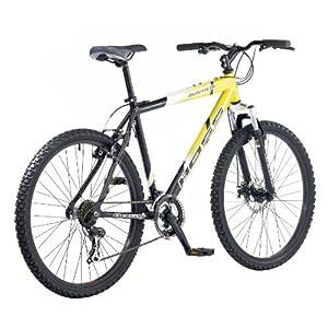 Boss Mayhem Men's Bike - Black/Yellow, 26 Inch
