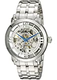 Stuhrling Original Men's Lifestyle Winchester 44 Elite Skeleton Silvertone Watch 165B2B.33112