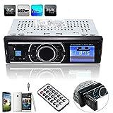 Autoradio audio stereo lettore musicale MP3 a scomparsa, ELEGIANT Music Player Auto Car Truck Auto MP3 radio stereo FM USB Memory Stick ricevente di deviazione standard TF, telecomando