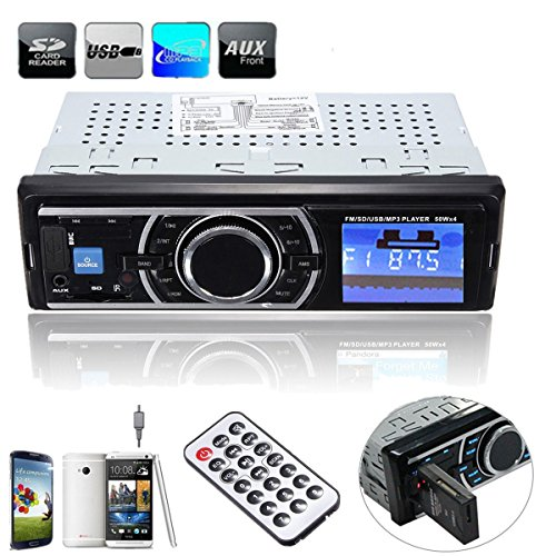 Autoradio-Audio-Stereo-In-Dash-MP3-Musik-Player-ELEGIANT-Auto-KFZ-LKW-PKW-MP3-Musik-Player-FM-Radio-Stereo-USB-Stick-SD-TF-Empfnger-mit-Fernbedienung