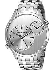 Armani Exchange Men's AX2174 Analog Display Analog Quartz Silver Watch