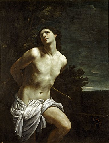 Perfect Effect Canvas ,the Cheap But High Quality Art Decorative Art Decorative Prints On Canvas Of Oil Painting 'Reni Guido Saint Sebastian ', 20 X 26 Inch / 51 X 66 Cm Is Best For Foyer Artwork And Home Gallery Art And Gifts
