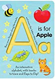 A Is for Apple (Trace-and-Flip Fun!) (Smart Kids Trace-and-Flip)