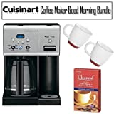 Cuisinart CHW-12 12-cup Programmable Coffee Maker Good Morning Bundle