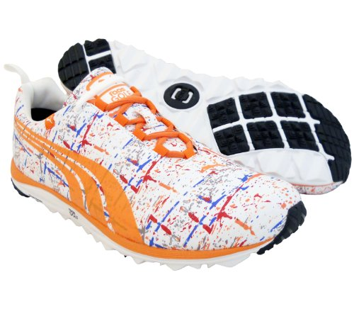 168b5db11839 New 2013 Limited Addition Mens PUMA Faas Lite Splatter Golf Shoes Size 10.5  M