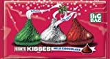 Hersheys Holiday Kisses, Milk Chocolate (Red, Green and Silver Foils), 18.5-Ounce Packages (Pack of 3)