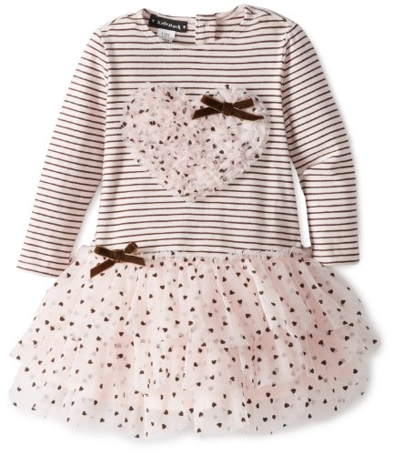 Hot Deal Kate Mack Baby-Girls Confetti Hearts Baby Infant Dress, Pink, 18 Months  Best Offer