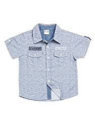 Wowmom Baby-Boys' Blue Shirt