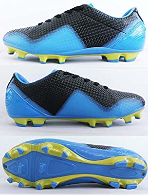 Soccer Cleats Blue Black Size9.5
