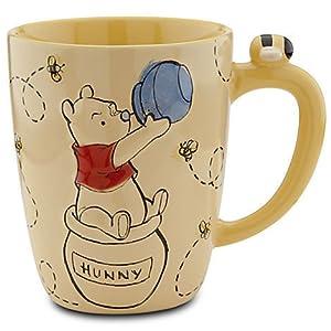 Amazon Com Winnie The Pooh Sculpted Bee Coffee Mug