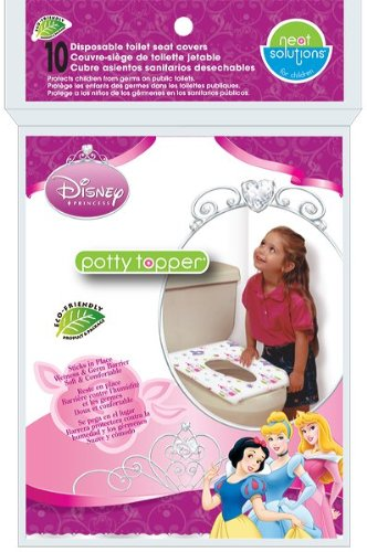 Neat Solutions Disney Princess Potty Topper, 10-Count - 1