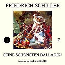 Friedich Schiller - Seine schönsten Balladen I Hörbuch von Friedrich Schiller Gesprochen von: Karlheinz Gabor