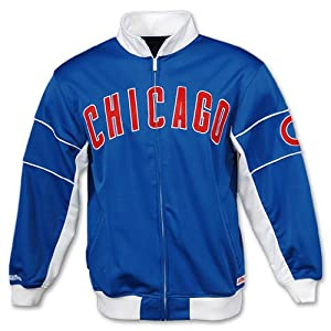 Chicago Cubs Royal Blue Full Zip Track Jacket by Stitches by Stitches