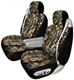 51Wb0FpXr1L. SL160  Elegant E 335631X Next Camo Big Truck Low Back Seat Cover   Pair