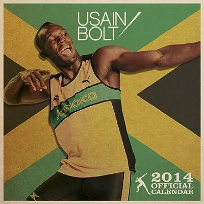 """Usain Bolt - Official 2014 Calendar (Size: 12"""" x 12"""") (UK Import)"""