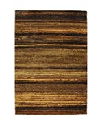 Tapis a Porter Alfombra Modern Marrón/Multicolor 80 x 150 cm