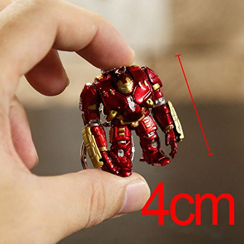 Marvel Avengers 2 Age of Ultron IRON MAN HULKBUSTER 4cm figure keychain