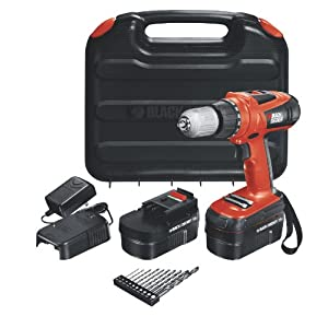 Black &amp; Decker HPD18AK-2 18v Cordless Drill