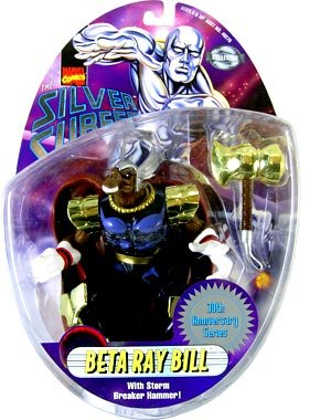 Silver Surfer Figure - Beta Ray Bill (Beta Ray Bill Action Figure compare prices)
