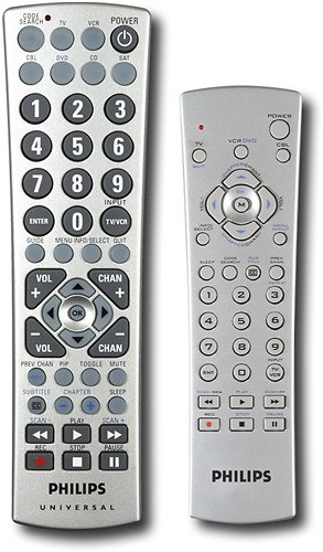 Philips Universal Remote Control Value Pack - 2 Remotes