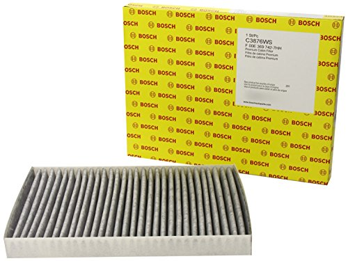 Bosch C3876WS / F00E369742 Carbon Activated Workshop Cabin Air Filter
