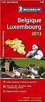Carte NATIONALE Belgique Luxembourg 2013 n°716