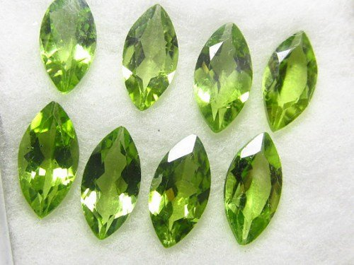 Natural Peridot Aaa Quality Loose Gemstone 4X2 Mm Faceted Marquise 50 Pieces Lot From Dashrath International front-1078235