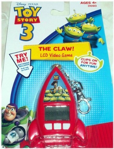 Disney Pixar Toy Story 3 The Claw Lcd Video Game Keychain Picture