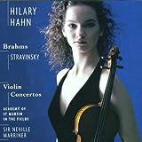 Brahms - Stravinski : Concertos pour violon