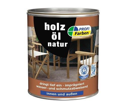 PROFI Acryl Holzöl Natur 2,5 L