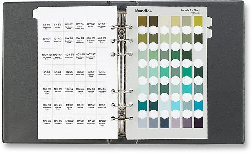 Munsell® Color Geological Rock-Color Chart 2009 Revised Washable Edition