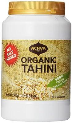 Achva Organic Tahini, 17.6 Ounce by Achva