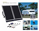 Solar 13w Briefcase Solar Generator, Portable Solar Charger for 12 V and 24 V Battery Systems, Ideal for Outdoor Activity, Caravans, Motorhomes, Yacht, Dc Fridge, Laptop Computer, GPS System...