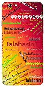 Jalahasini (Popular Girl Name) Name & Sign Printed All over customize & Personalized!! Protective back cover for your Smart Phone : Samsung Galaxy E5