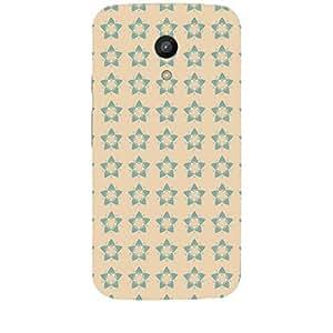 Skin4gadgets STARS PATTERN 11 Phone Skin for MOTO G 2ND G
