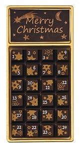 "Weibler Geschenkpackung ""Adventskalender"" Zartbitter 30g, 24er Pack (24 x 30g)"