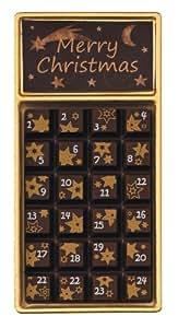 "Weibler Geschenkpackung ""Adventskalender"" Zartbitter, 24er Pack (24 x 30 g)"