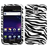 Zebra Skin Phone Protector Faceplate Cover For SAMSUNG i727(Galaxy S II Skyrocket) AT&T