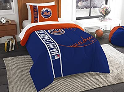 The Northwest Company Northwest MLB New York Mets Twin Comforter & Sham